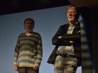 Lluís Soler i Xavier Boada a 'Per un sí o per un no'. Imatge de David Ruano.