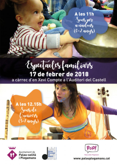 Cartell Espectacles familiars
