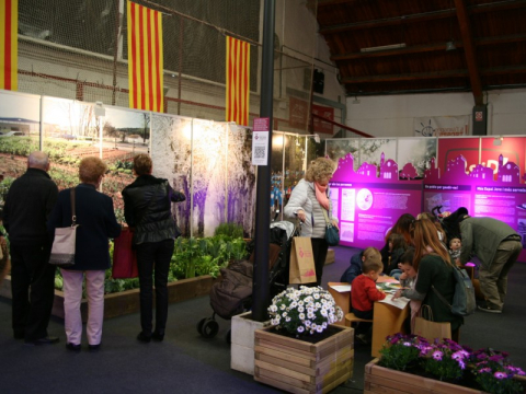 Estands al Comerç Fest.