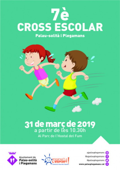 Cartell del Cross Escolar 2019