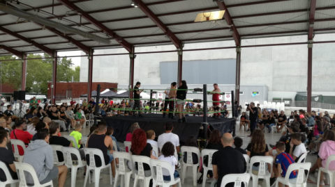 Wrestling al Fancon 2019