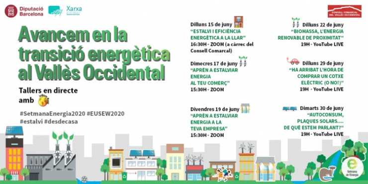 Tallers Setmana Energia 2020 Consell Comarcal